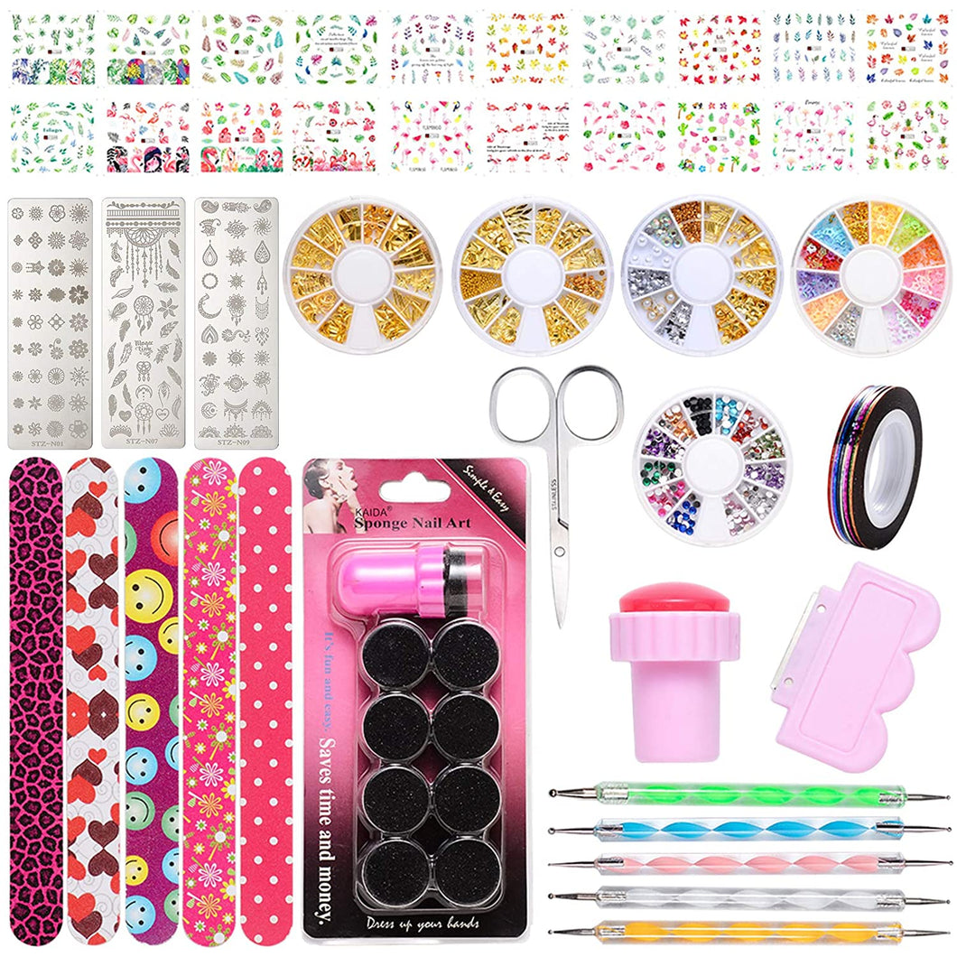 Nail Art Tools Set (NAIL-NN0001-K018)