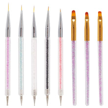 Load image into Gallery viewer, 8PCS Nail Art Brushes Set(NAIL-NN0001-T048)