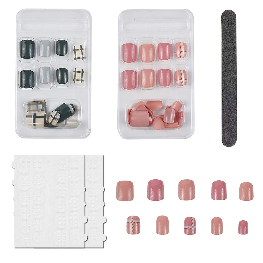 Nail Art False Nails Set (NAIL-NN0001-D051-13)