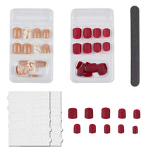 Load image into Gallery viewer, Nail Art False Nails Set (NAIL-NN0001-D051-10)