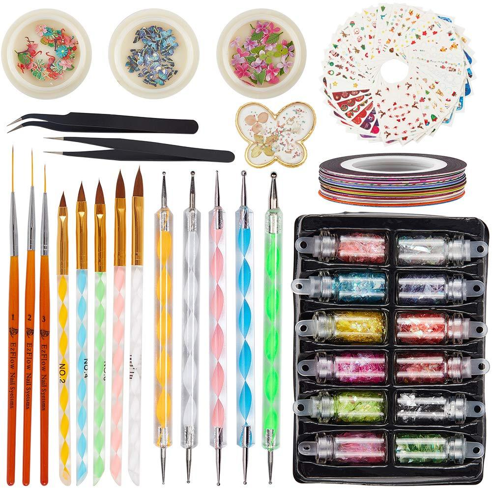105PCS Nail Art Set (NAIL-NN0001-K026)