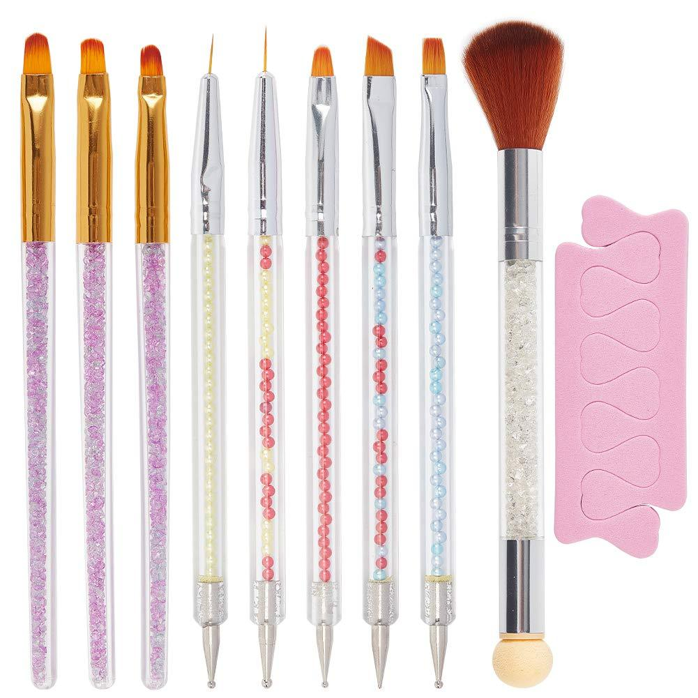 11PCS Nail Art Brushes Set(NAIL-NN0001-T046)