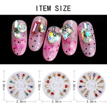 Load image into Gallery viewer, 3 Boxes Nail Art 3D Rhinestones (NAIL-NN0001-D048-1)