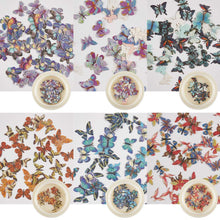 Load image into Gallery viewer, 6 Boxes 3D Mixed Butterfly Sequin(NAIL-NN0001-D041)