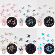 Load image into Gallery viewer, 3D Butterfly Nail Art Rhinestones (NAIL-NN0001-D032)