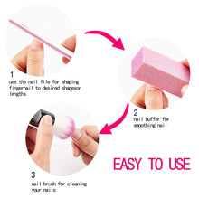 Load image into Gallery viewer, 6PCS Nail File Set (NAIL-NN0001-T069)