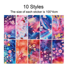 Load image into Gallery viewer, 20 Colors Nail Foil Transfer Sticker(NAIL-NN0001-D031-1)