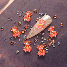 Load image into Gallery viewer, 3D Cute Bear Resin Nail Art Decorations (NAIL-NN0001-D045-3)