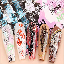 Load image into Gallery viewer, 10 Colors Nail Foil Newspaper Transfer Sticker(NAIL-NN0001-D031-2)