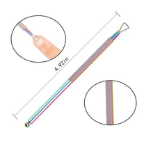 Load image into Gallery viewer, 4PCS Rainbow Colors Cuticle Pusher Kit (NAIL-NN0001-T057)