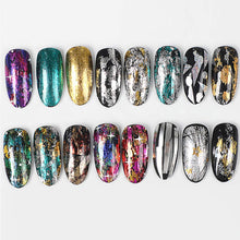 Load image into Gallery viewer, Holographic Nail Art Transfer Foil Set(NAIL-NN0001-D055)