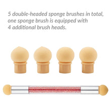 Load image into Gallery viewer, 5 Packs Sponge Nail Brush(NAIL-NN0001-T043)
