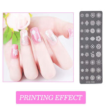 Load image into Gallery viewer, Nail Art Small Pattern Stamping Kit(NAIL-NN0001-K002)