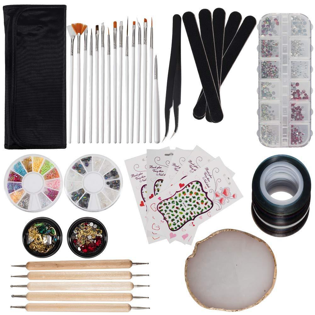 Nail Painting Set(NAIL-NN0001-K007)