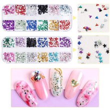Load image into Gallery viewer, Nail Art Sequins Shining Glitter(NAIL-NN0001-D002)