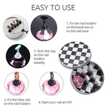 Load image into Gallery viewer, Chessboard Nail Art Display Tools Set(NAIL-NN0001-T011)