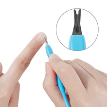 Load image into Gallery viewer, Rubber Nail Cuticle Pusher Plastic Handle(NAIL-NN0001-T032)