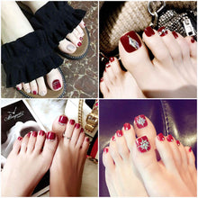 Load image into Gallery viewer, Acrylic False Toenails(NAIL-NN0001-D023)