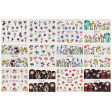 Load image into Gallery viewer, Flower Pattern Nail Art Foil Transfer Stickers(NAIL-NN0001-D030-2)