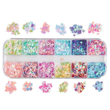 Load image into Gallery viewer, Laser Butterfly Stickers(NAIL-NN0001-D029-4)