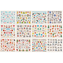 Load image into Gallery viewer, Christmas Pattern Nail Art Foil Transfer Stickers(NAIL-NN0001-D030-1)