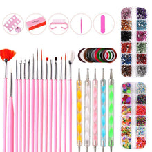 Load image into Gallery viewer, Nail Art Decoration Set(NAIL-NN0001-K029)