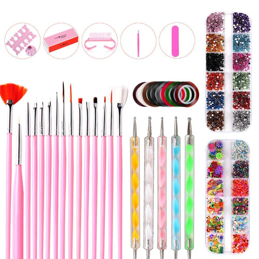 Nail Art Decoration Set(NAIL-NN0001-K029)