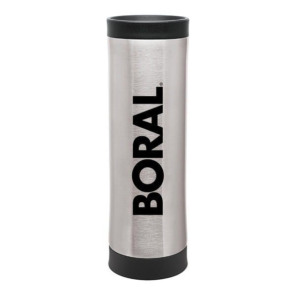 Silver Stainless Steel Double Walled Coffee Tumbler