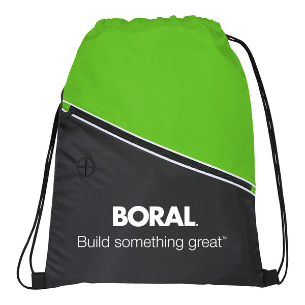 Two Tone Event Cinch Pack with Boral Tagline