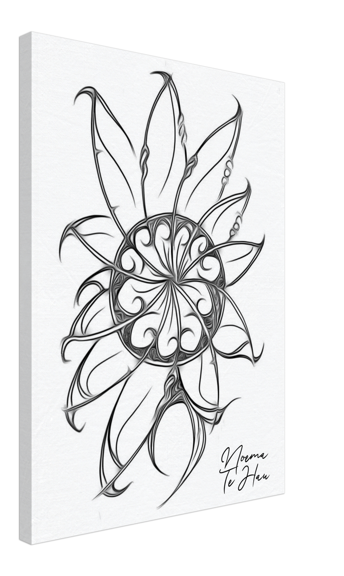 "Putiputi Ataahua ""Beautiful Flower"" 50 x 70 cm"