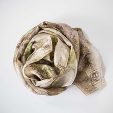 Load image into Gallery viewer, Eco Dyed Silk Scarf - Aotearoa