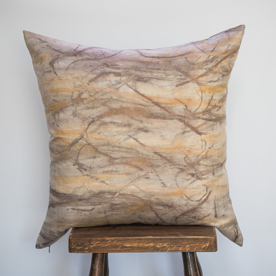Silk Cushion - Naturally Dyed