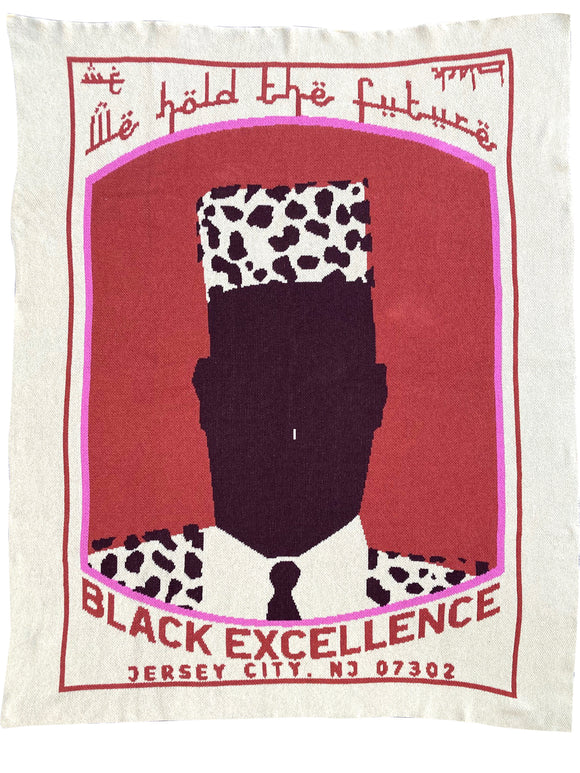 BLACK EXCELLENCE MON THROW BLANKET