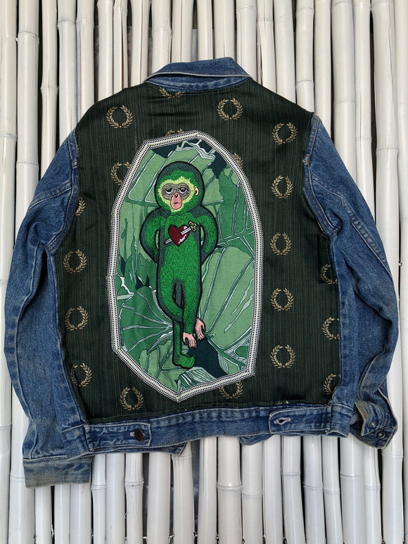 GREEN MONKEY CHILDREN'S DENIM JACKET