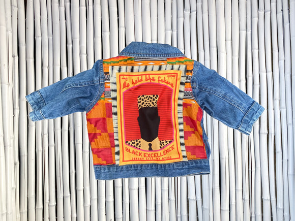 BLACK EXCELLENCE BABY DENIM JACKET