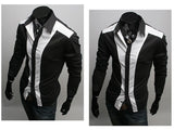 Tuxedo Print Design Stylish Dress Shirts - Casual Shirts - eDealRetail - 3