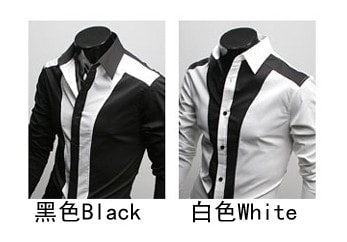 Tuxedo Print Design Stylish Dress Shirts - Casual Shirts - eDealRetail - 4