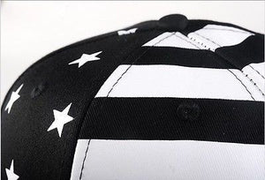 USA American Flag Adjustable Black Snapback - Hats - eDealRetail - 6