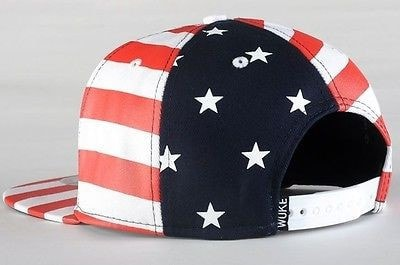 USA American Flag Adjustable Snapback Hat - Hats - eDealRetail - 5