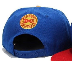 Blue Superman Adjustable Snapback Hat - Hats - eDealRetail - 2