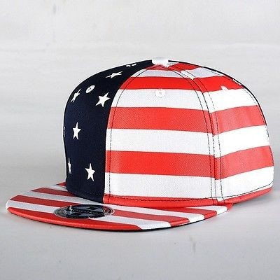 USA American Flag Adjustable Snapback Hat - Hats - eDealRetail - 3