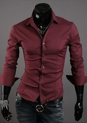 Formal Shirts For Men - 10 Color Casual Dress Shirts - Dress Shirts - eDealRetail - 5