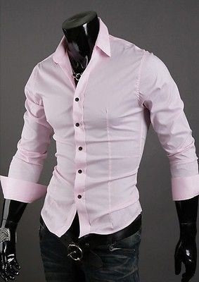 Formal Shirts For Men - 10 Color Casual Dress Shirts - Dress Shirts - eDealRetail - 14