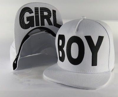 Boy/Girl White Adjustable Snapback Hat - Hats - eDealRetail - 2