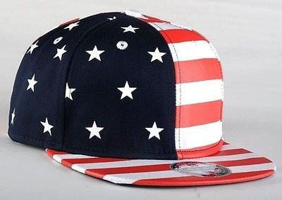 USA American Flag Adjustable Snapback Hat - Hats - eDealRetail - 4