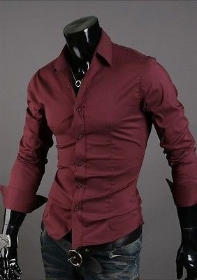Formal Shirts For Men - 10 Color Casual Dress Shirts - Dress Shirts - eDealRetail - 15