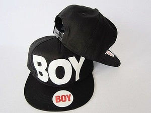 Boy/Girl Black Adjustable Snapback Hat - Hats - eDealRetail - 2