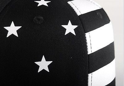 USA American Flag Adjustable Black Snapback - Hats - eDealRetail - 7