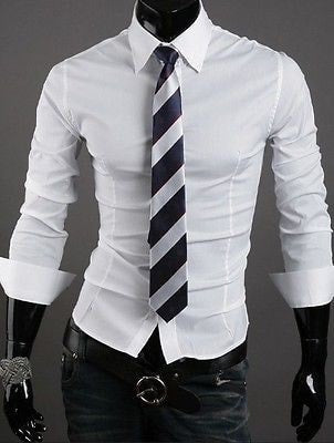 Formal Shirts For Men - 10 Color Casual Dress Shirts - Dress Shirts - eDealRetail - 2