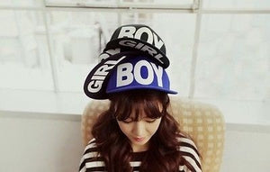 Boy/Girl Black Adjustable Snapback Hat - Hats - eDealRetail - 6